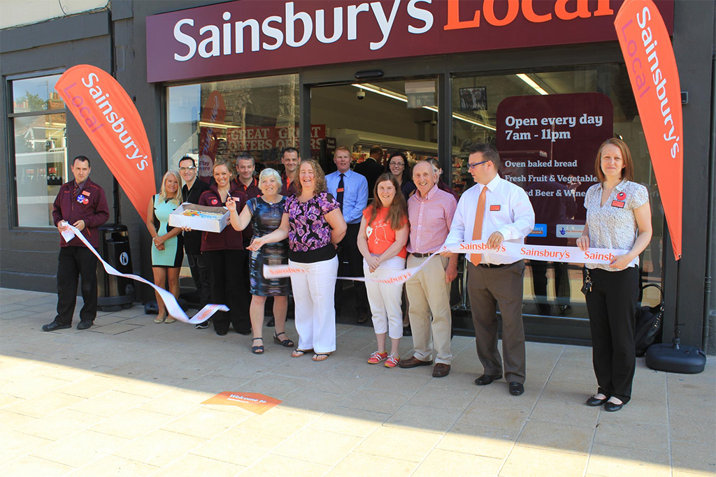 Sainsbury's Portobello launch